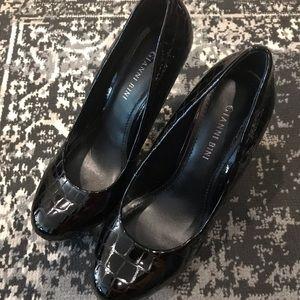 NEW Gianni Bini size 8 Black patent pumps